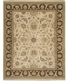 RugStudio presents Rugstudio Famous Maker 39265 Dark Ivory Hand-Knotted, Good Quality Area Rug